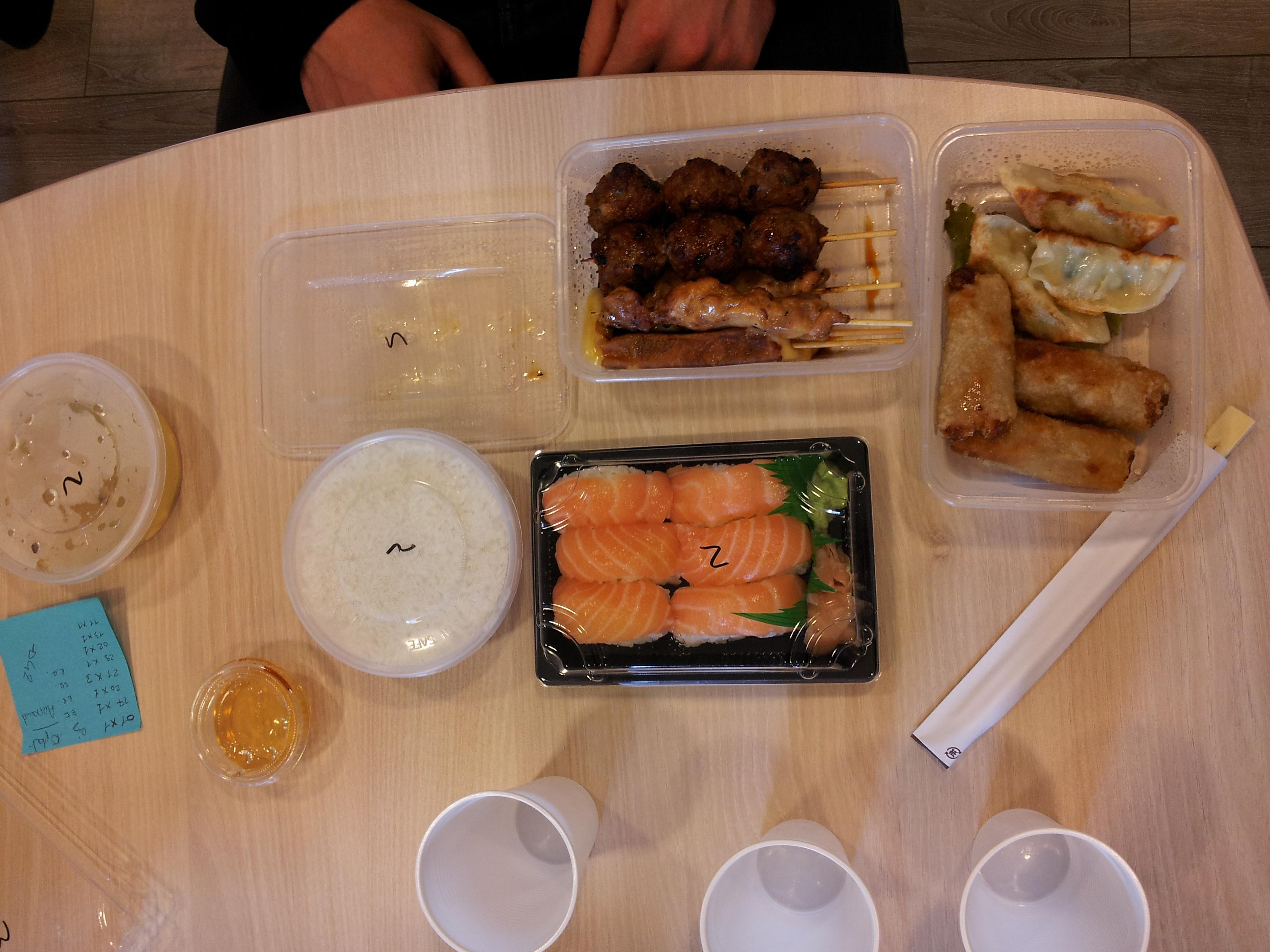 Premier Sushi à Paris 09