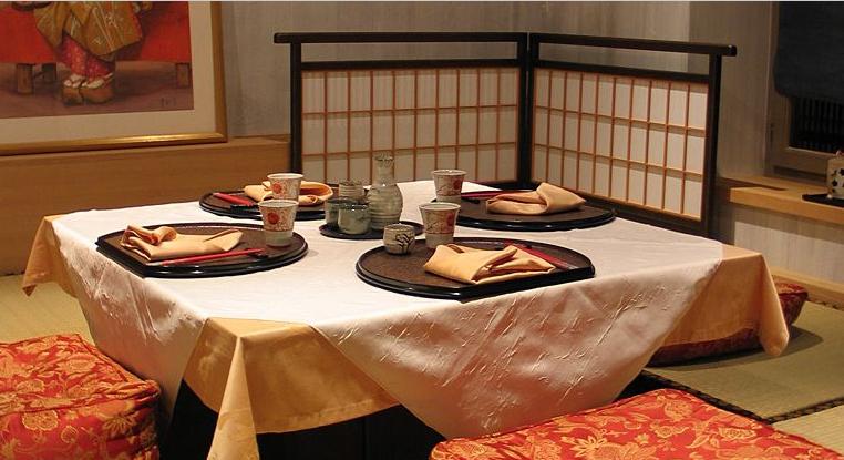 Manger dehors au japon traditions japonaises for Mobilier japonais paris 15