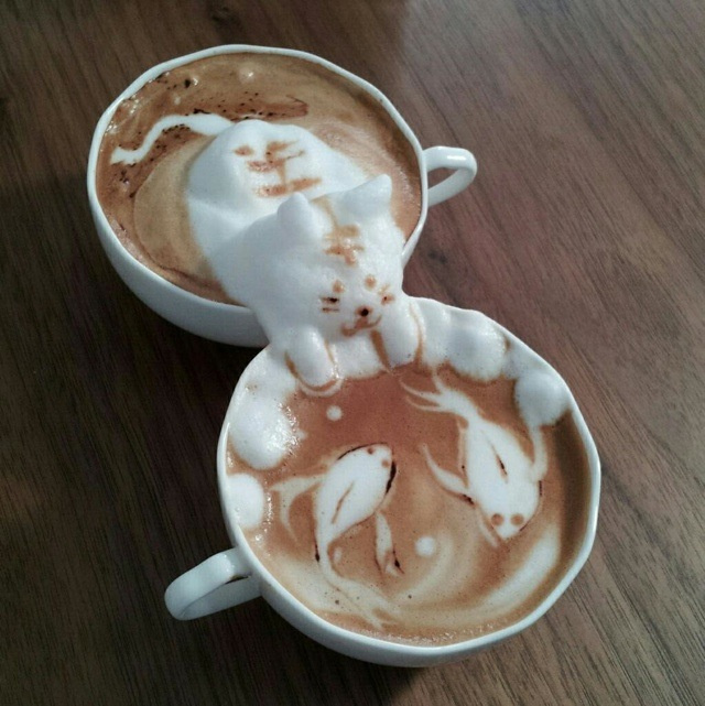 Latte art Japonais
