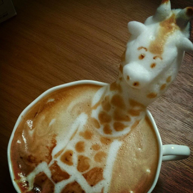 Girafe de lait