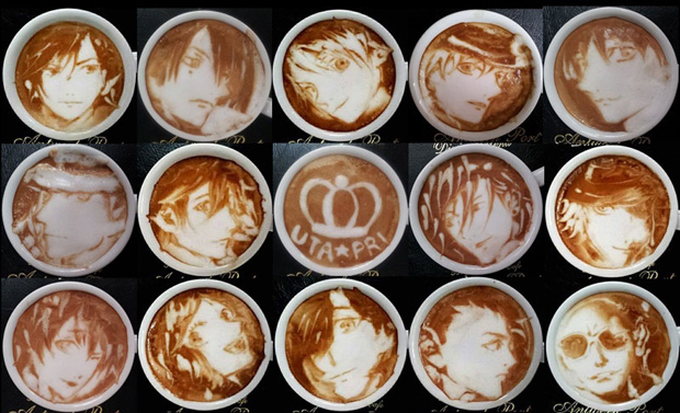 Latte Art Manga