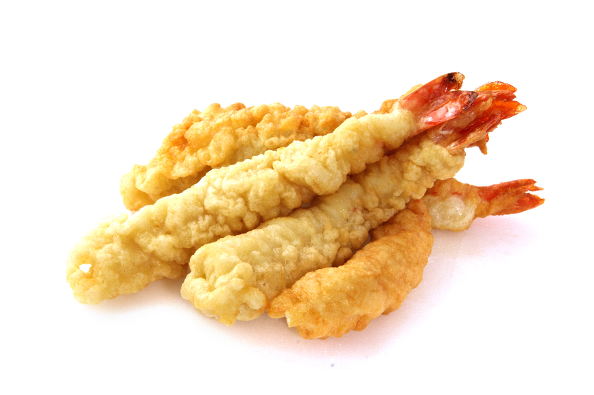 Beignets tempura