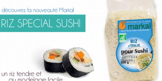 Riz spécial sushi de Markal