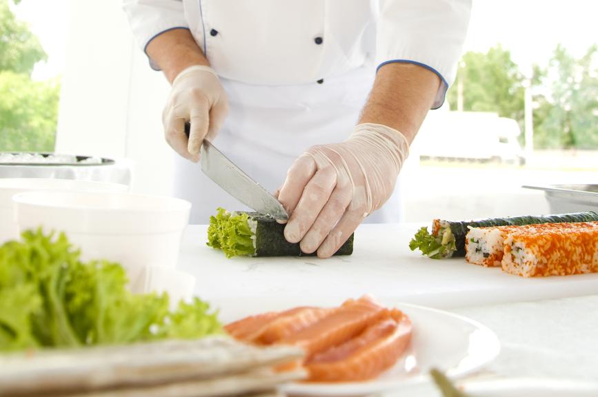 Marché sushi en France