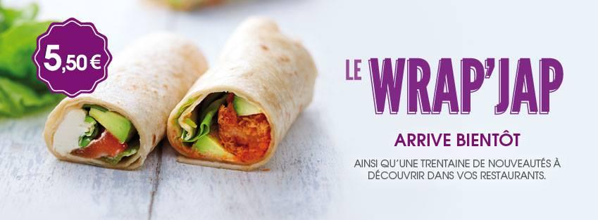 Eat sushi petit prix wrap udon