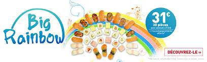 Big Rainbow O Sushi