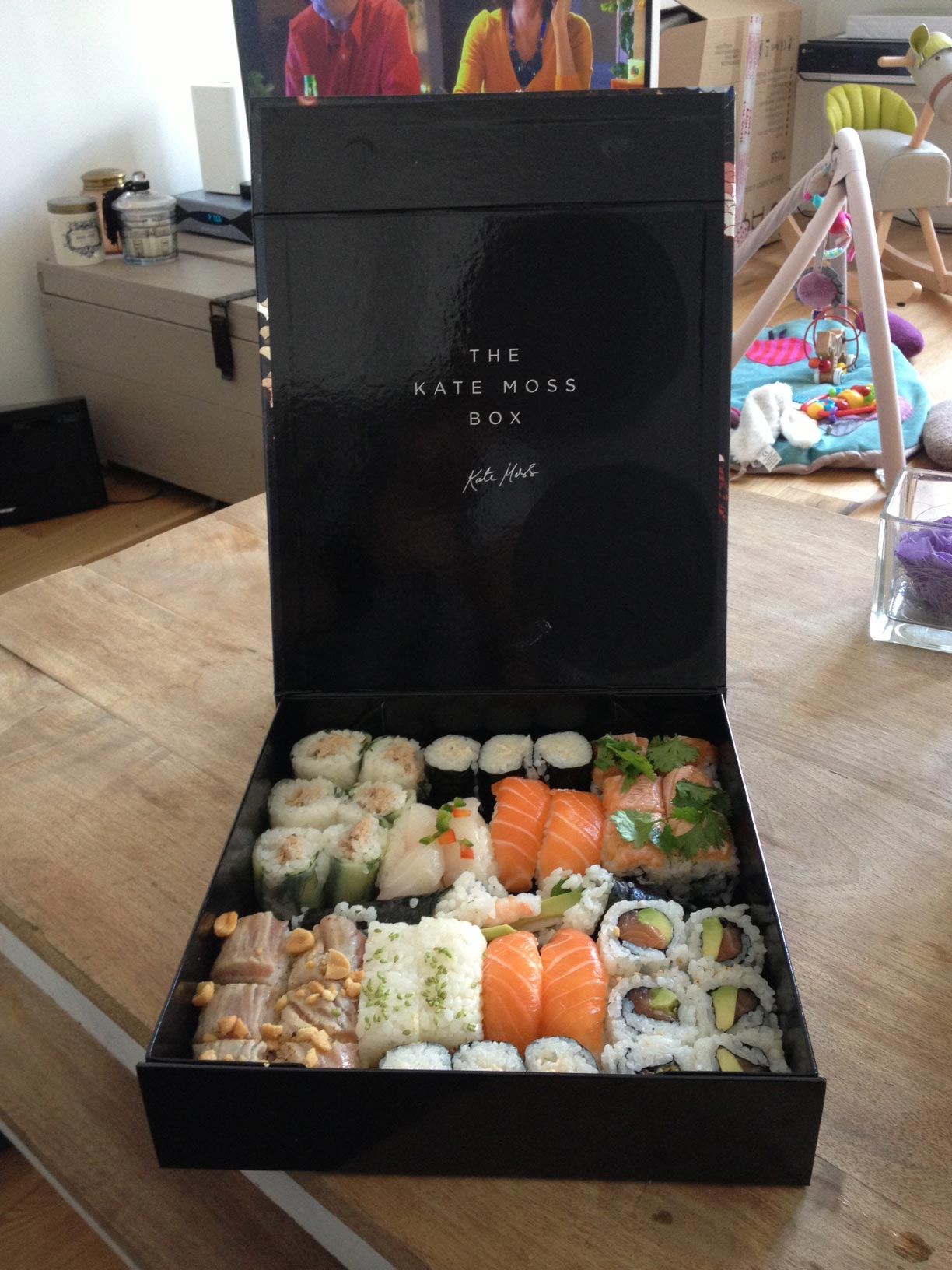 Box Kate Moss Sushi Shop