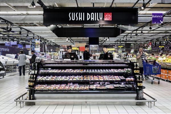 sushi daily envahit les hypermarch s carrefour actualit s japon. Black Bedroom Furniture Sets. Home Design Ideas