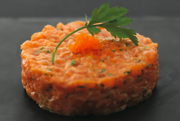 Tartare de saumon new style - Sushi Shop Robuchon