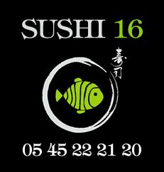 Sushi 16 à Angoulême