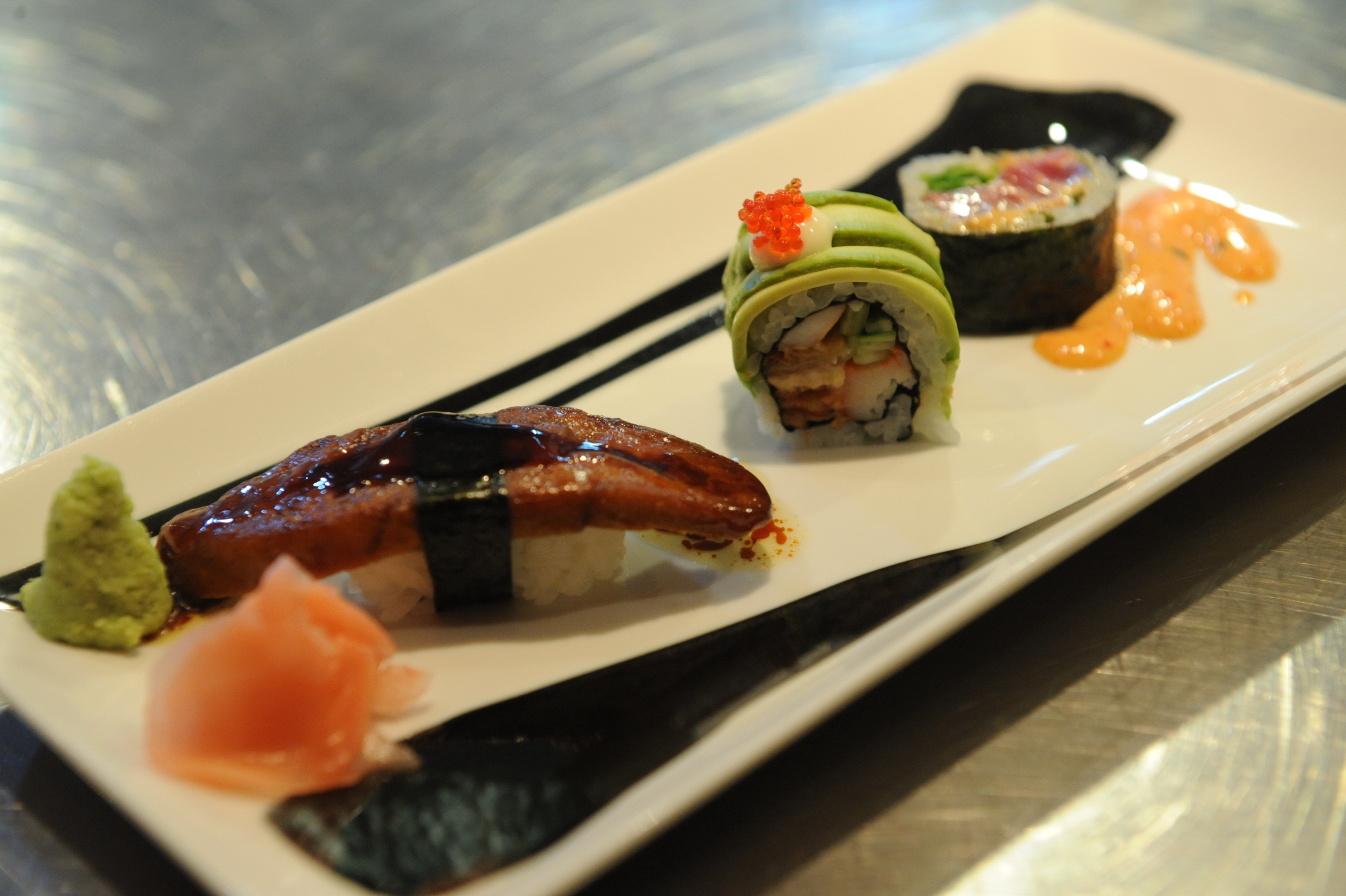 Sushi de fêtes