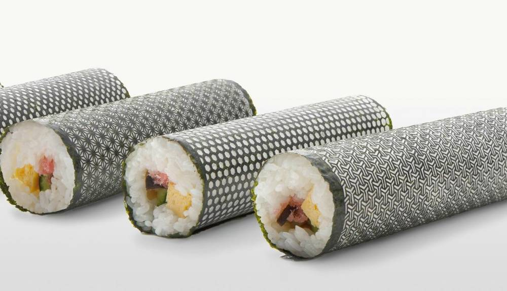 Sushi algues originales