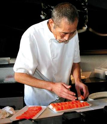 Restaurant Japonais Avec Maitre Sushi