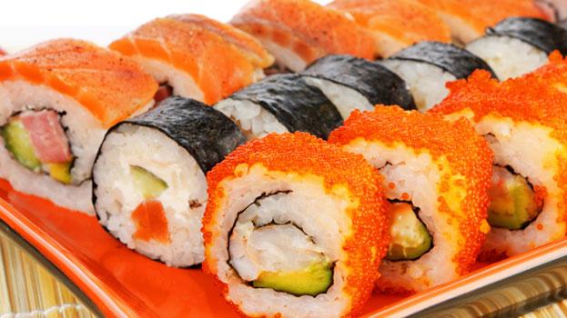 sushi versus big mac cuisine japonaise. Black Bedroom Furniture Sets. Home Design Ideas