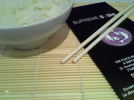 Supreme sushi à Roissy-en-Brie