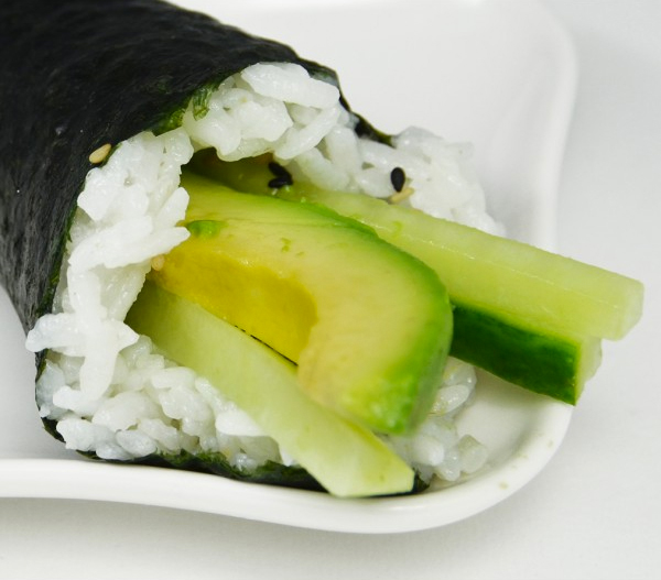 Sushi vegetarien
