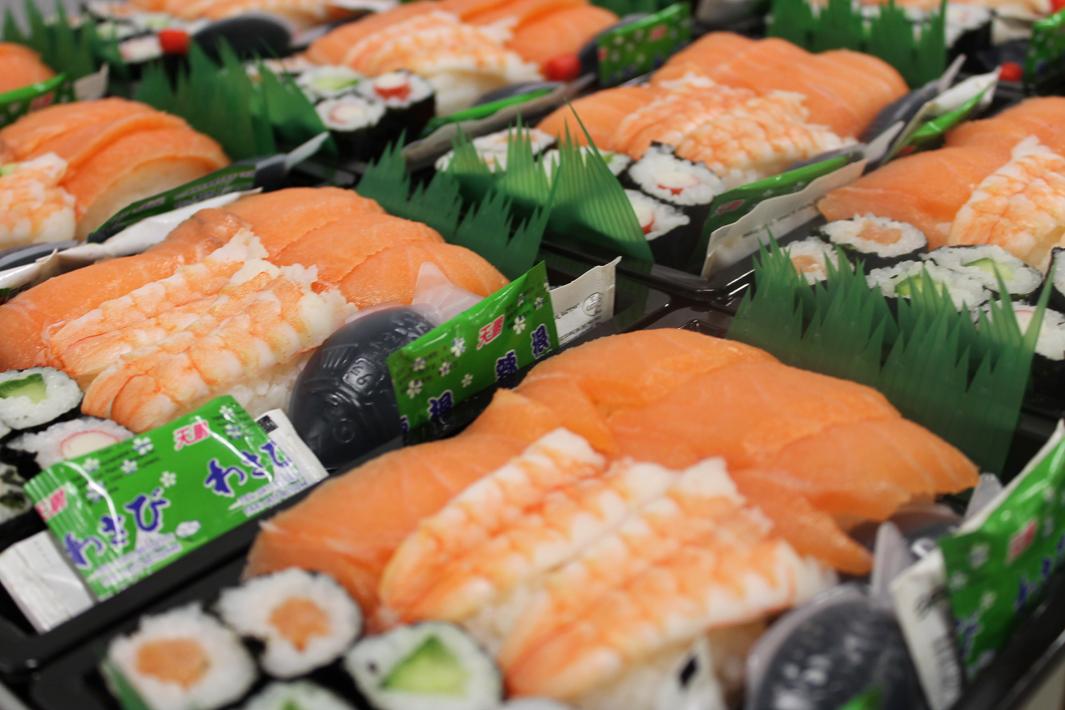 Sushi surgelé
