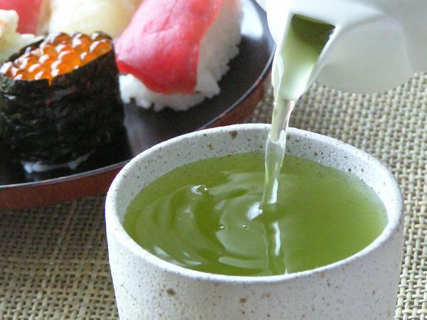 Thé vert sushi
