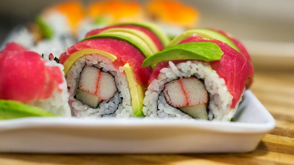 Choisir sushis calories