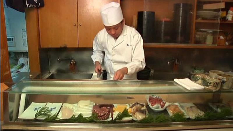 Plus petit sushi du monde