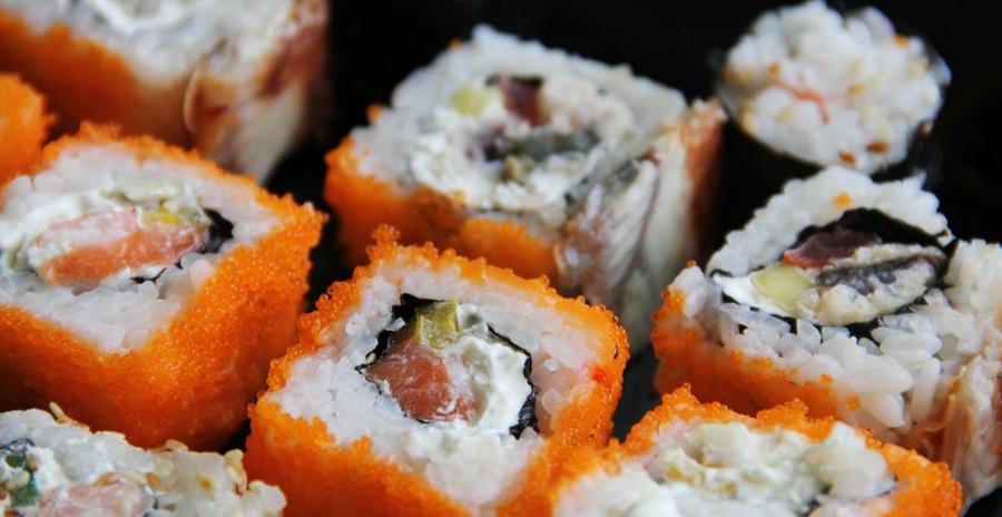 Sushi industriel fabrication
