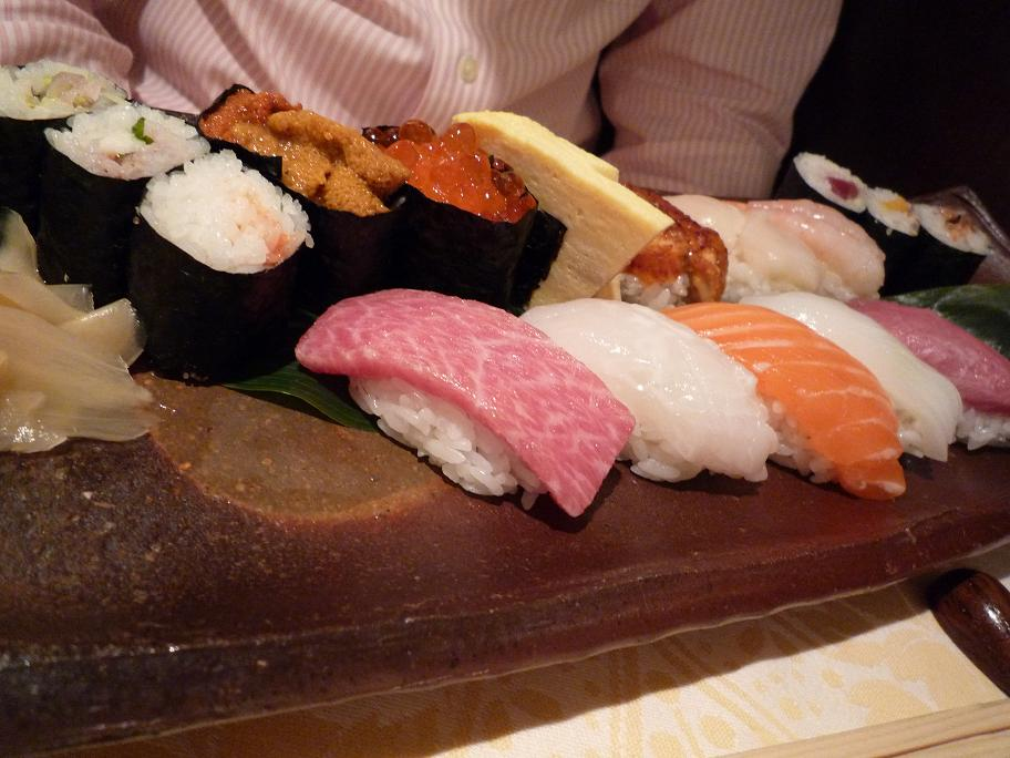 Sushis charcuterie