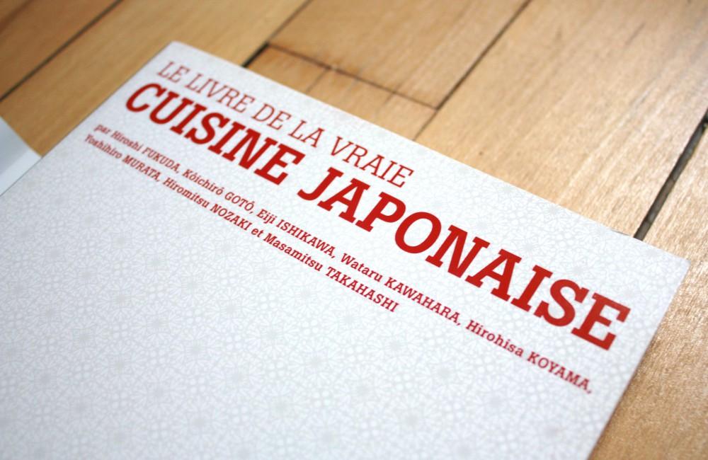 Livre cuisine japonaise