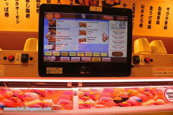 Smart sushi restaurant japonais futur