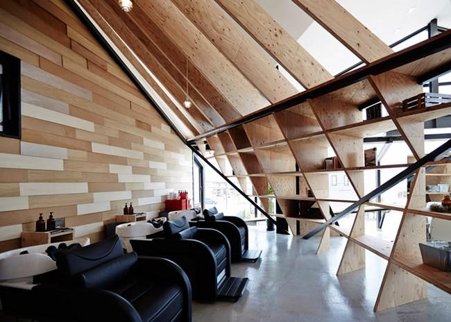Cet architecte transforme ce restaurant en salon de for Salon des ce