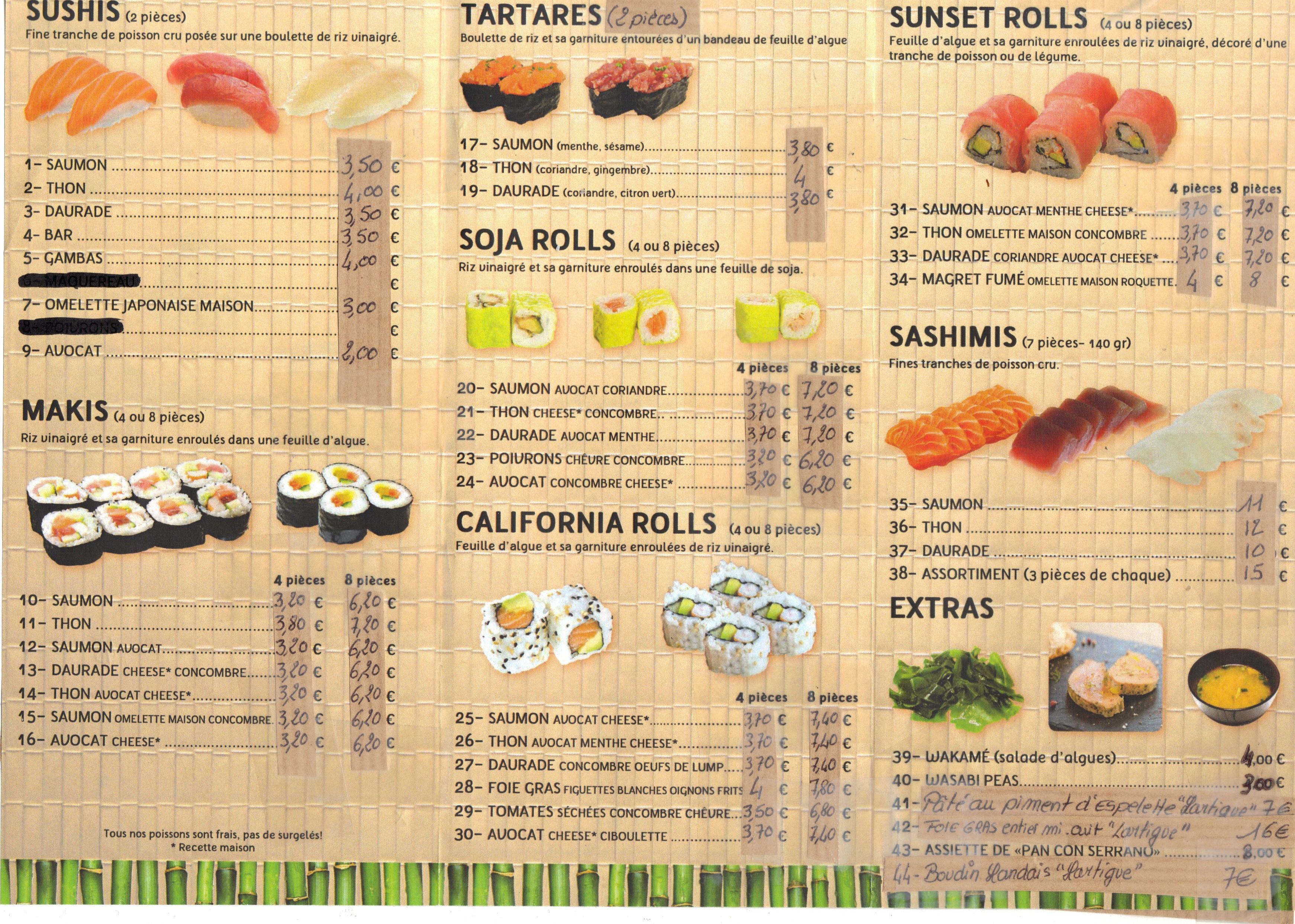 Le Sushi Bar à Capbreton