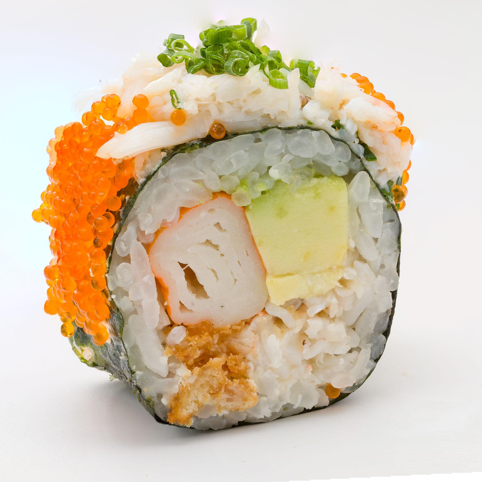 Les sushis revisités par les américains